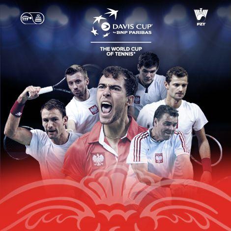 Davis Cup by BNP Paribas POLSKA-UKRAINA  17-19.07 Azoty Arena Szczecin