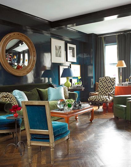 house beautiful living room colors. Peacock Inspired Colors Bedrooms  IMAGE CREDITS HOUSE BEAUTIFUL DECORPAD 409 best Bedroom decorating ideas images on Pinterest