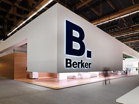 Berker Trade Show Booth #tradeshow #booth #exhibition: