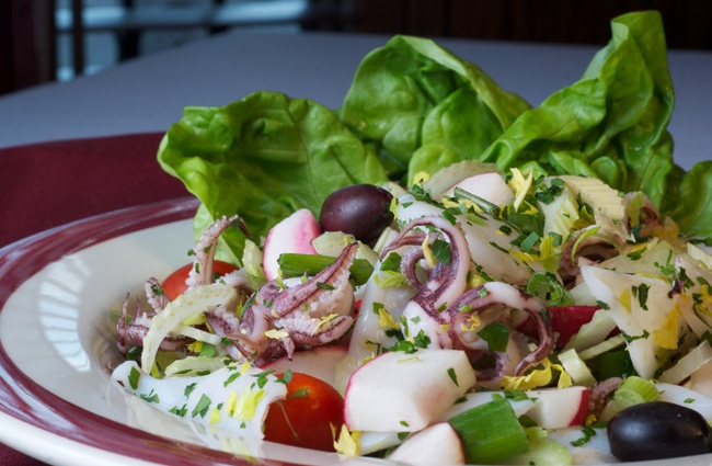 Calamari Salad | I LOVE CHOCOLATE AND SWEET THINGS AND GREAT RECIPES ...