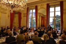 The ESCP Europe Foundation hosts its major donors at the Senate