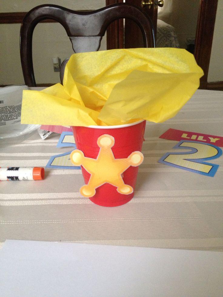 Toy Story Theme Birthday Party,   2nd Birthday Party