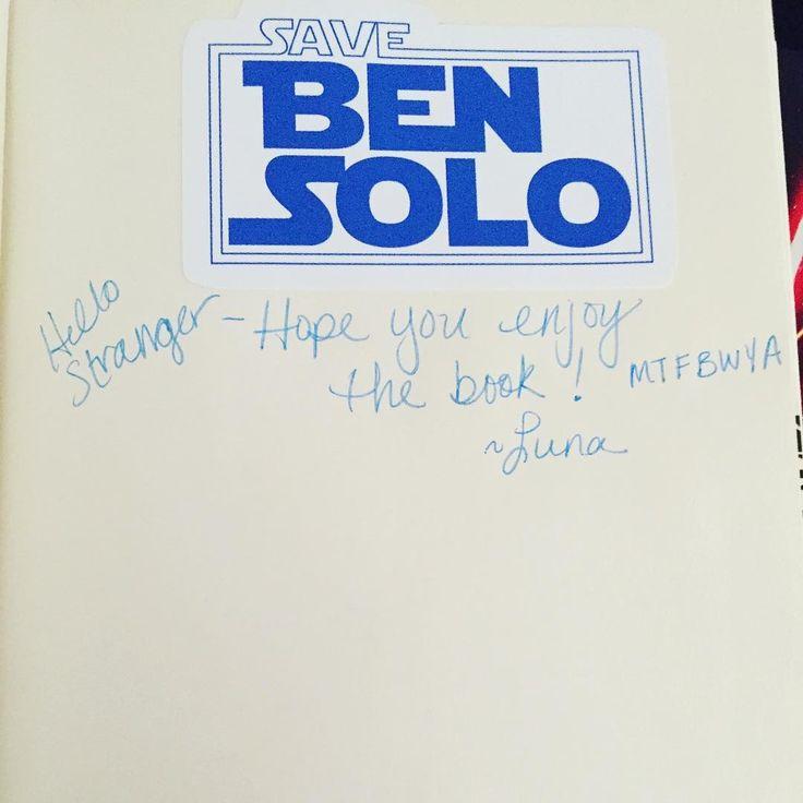 Extra copy of The Last Jedi went into a Little Free Library in Tucson. Happy reading stranger and #mtfbwy!  #delreystarwars #thelastjedi #jasonfry #starwars #reylo #savebensolo #littlefreelibrary #sharethelove #chickenscratch