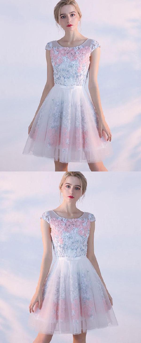 Morden cute prom dresses prom dresses short prom dresses aline in