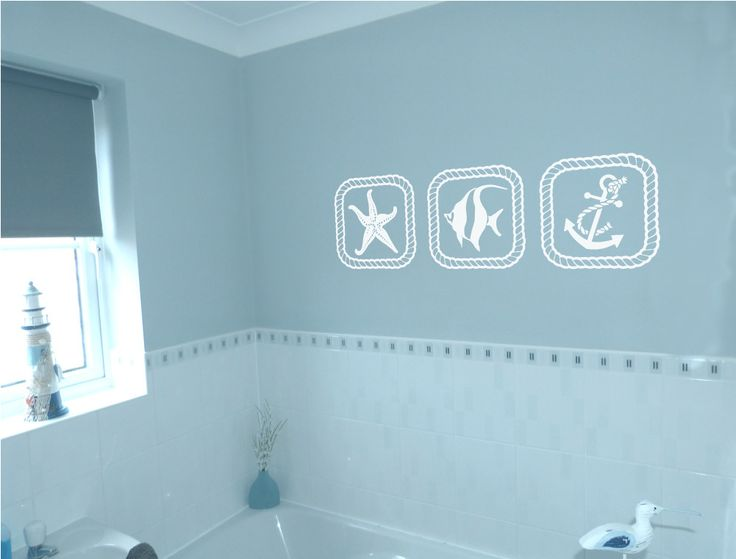 26 best bathroom wall stickers images on Pinterest Bathroom wall