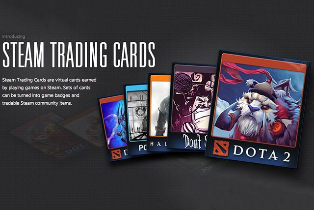 Steam Random Trading Card