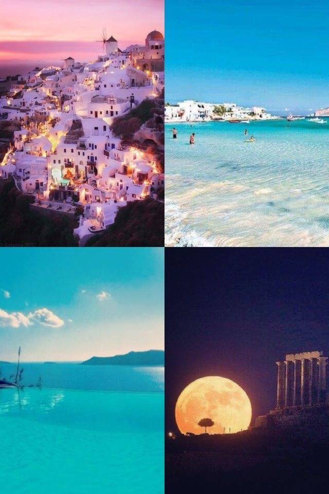 I just want to go to Greece