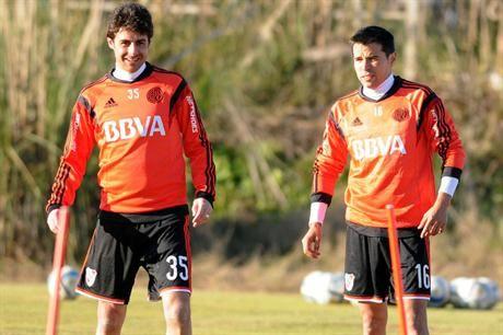 Javier Saviola se sumó a los entrenamientos de River en Cardales