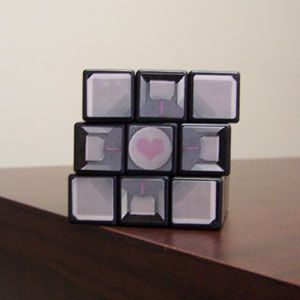 Rubik's Companion Cube! I'm so going to have to do this!!