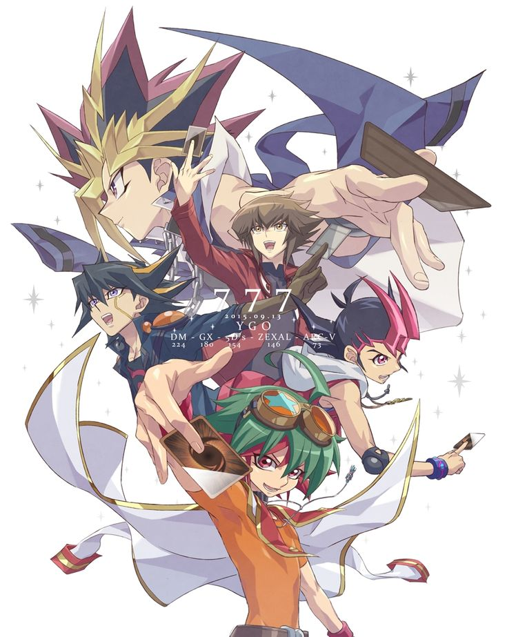 Rokuro, Yu-Gi-Oh!, Yu-Gi-Oh! GX, Yu-Gi-Oh! 5D's, Yu-Gi-Oh! Duel Monsters, Yu-Gi-Oh! ZEXAL