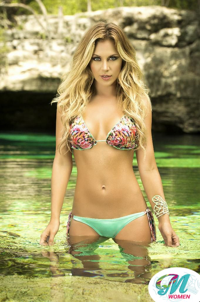 Two Piece Swimsuit Color Green $ 34.00