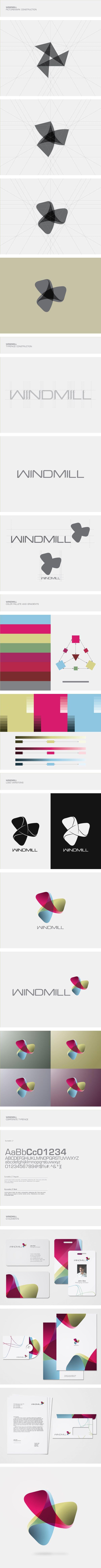 Windmill Visual Identity by Eduard Kovacs