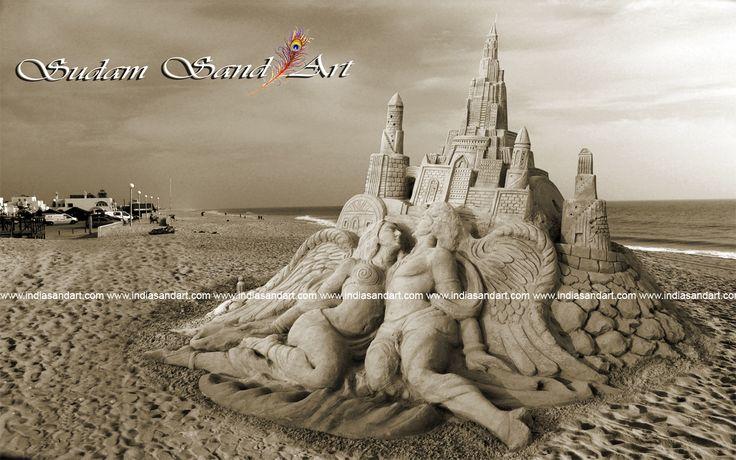 art by sudam pradhan international sand artist# odisha #india# sudam.pradhan77@gmail.com