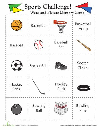 18 best images about PE WORKSHEETS on Pinterest