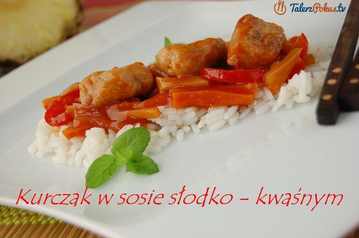 Kurczak w sosie słodko - kwaśnym - TalerzPokus.tv