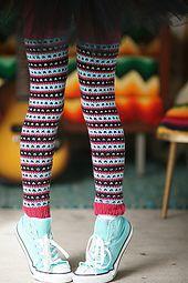Ravelry: Leggings pattern by Kate Oates