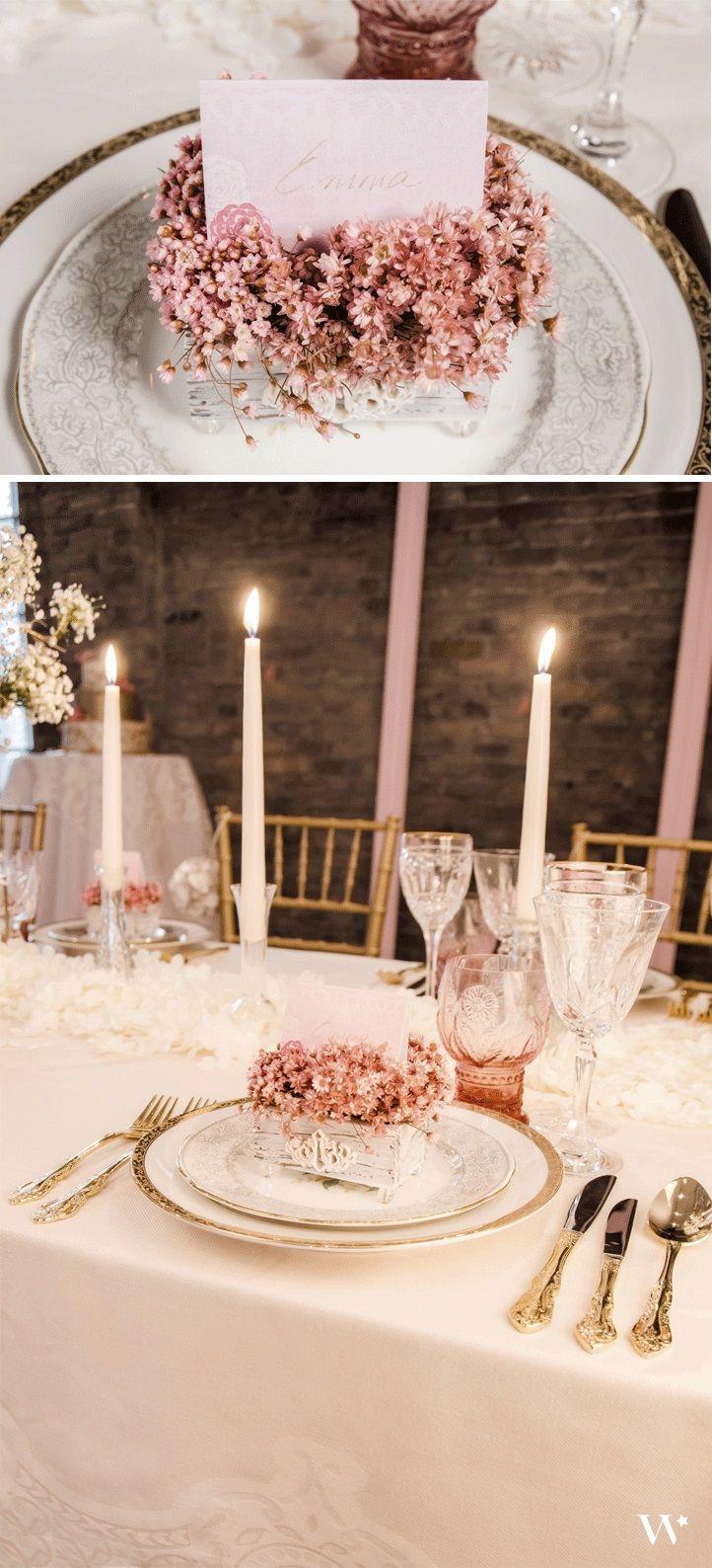 Inspiration: Romantic Pink Wedding.