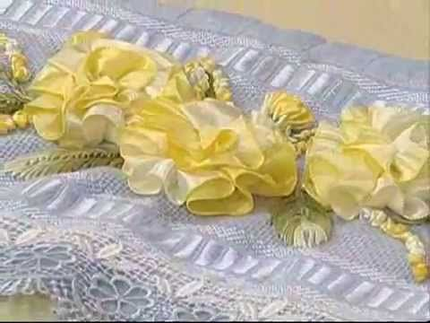 Bordado de Margaridas com Enedina Barbosa - Vitrine do Artesanato na TV - YouTube