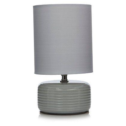 George Home Ridged Ceramic Table Lamp
