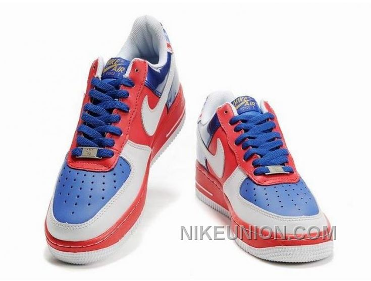 Nike Air Force 1 Low Blue Red White Super Deals