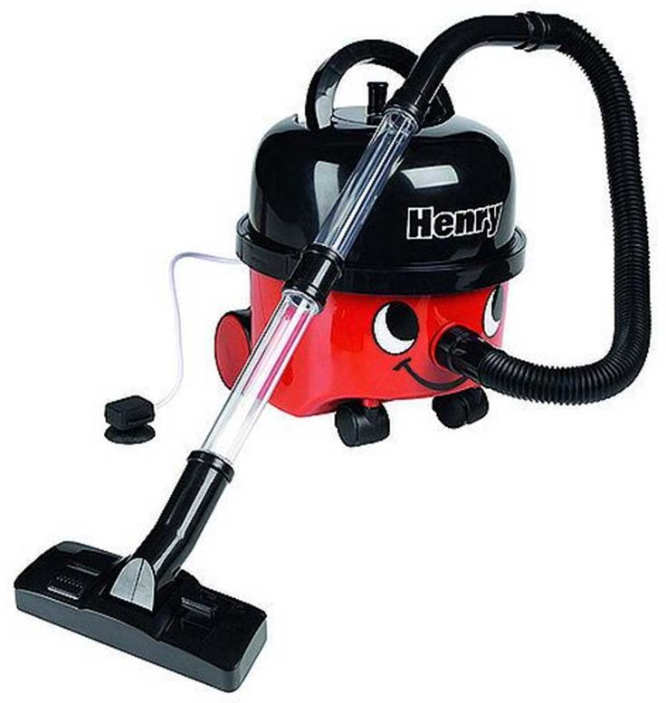 This cute scaled-down version of the ever-popular Henry vacuum cleaner includes the famous Henry eyes and smile. It really works, picking up small bits of paper or poly beads. The Little Henry Vacuum includes removable dust box and a whole array of cleaning accessories stored neatly under the 'Hat', including a dustpan and brush. #HenryVacuumCleaner #VacuumCleaner #KidsVacuumCleaner #KidsGifts #KidsToys