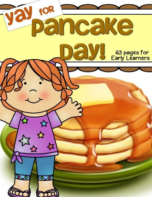 Pancake Day Theme Unit Pack for preschool and Kindergarten. #pancakeday #preschool #prek #preschoolactivities