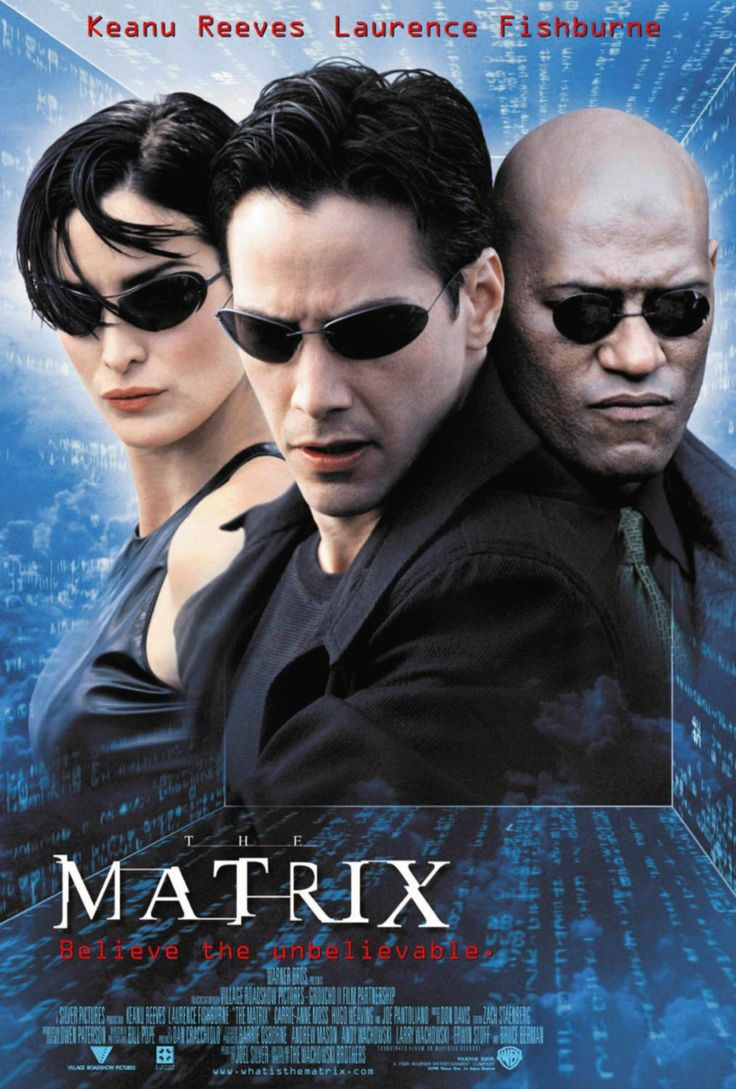 Titolo originale: The matrix  Durata:		136'	 Anno:		1998	 Produzione:	USA Regia:		 Andy Wachowski, Larry Wachovski Cast:		 Keanu Reeves, Laurence Fishburne, Carrie-Ann Ross,  		Hugo Weaving