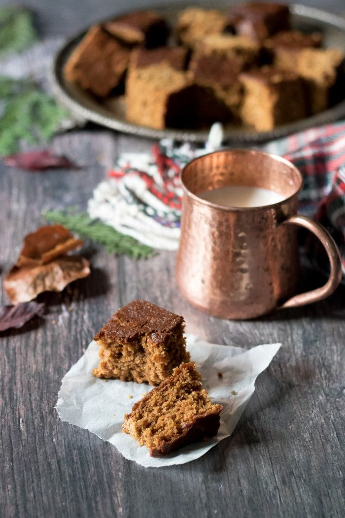 This Yorkshire Parkin recipe is perfect for Bonfire night or any cold autumn evening. It's a sticky oat ginger cake that's simple to make.