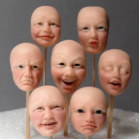 polymer clay faces 5