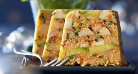 Terrine de crabe exotiqueVoir la recette de la Terrine de crabe exotique >>