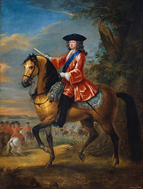 George I (1660-1727) ~ 1726 John Vanderblank