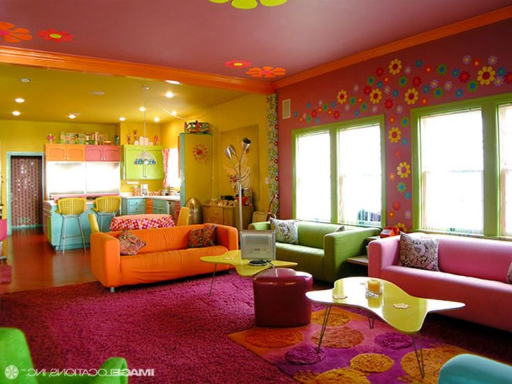 Wall Room With Color Ideas And Also Living