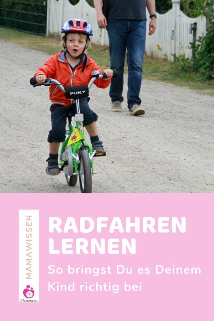 Wie Man Kindern Das Radfahren Beibrinen Kann Mamaclever De In