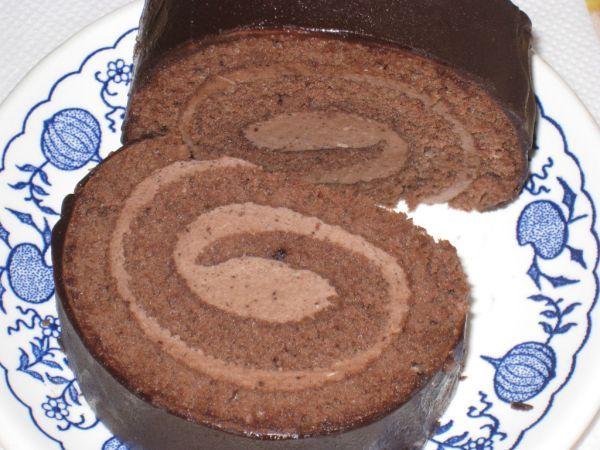 Čokoládová roláda - Recept pre každého kuchára, množstvo receptov pre pečenie a varenie. Recepty pre chutný život. Slovenské jedlá a medzinárodná kuchyňa