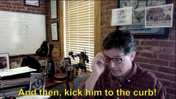 And finally, Stephen's best moment. If your man doesn't treat you right, then… | 5 Pieces Of Heartwarming Dad Advice From Stephen Colbert