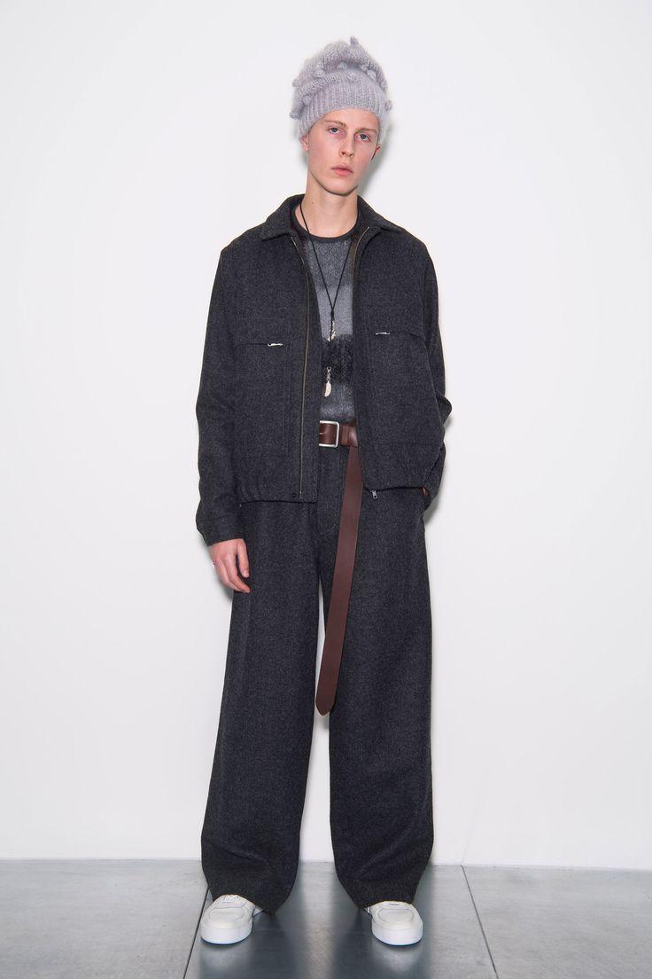 Lou Dalton Fall 2018 Menswear Fashion Show Collection
