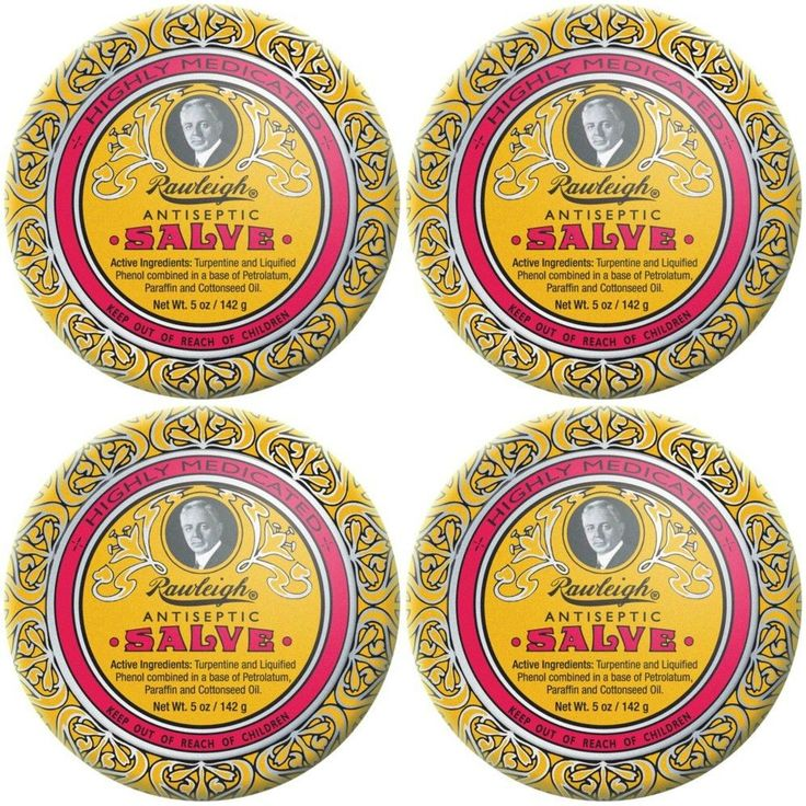 Ointments Creams and Oils: (4 Tins) Rawleigh Antiseptic Salve For Bee Stings Cuts Scrapes Burns Insect Bite -> BUY IT NOW ONLY: $46 on eBay!