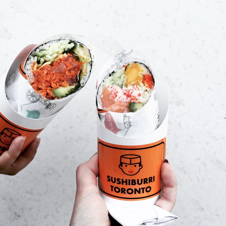 One of the messiest and most delicious things I've eaten - sushi burrito.