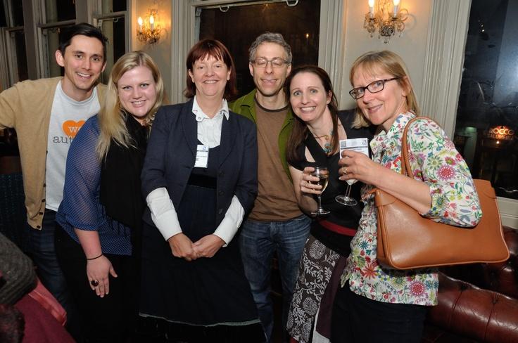 Orna Ross, Amazon's Thom Kephart and Amanda Wilson, Brian Felsen and Karen Inglis - and me!