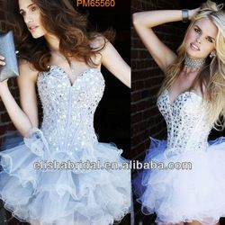 Be a great costume for being a ballerina for Halloween  :) Corset short dress