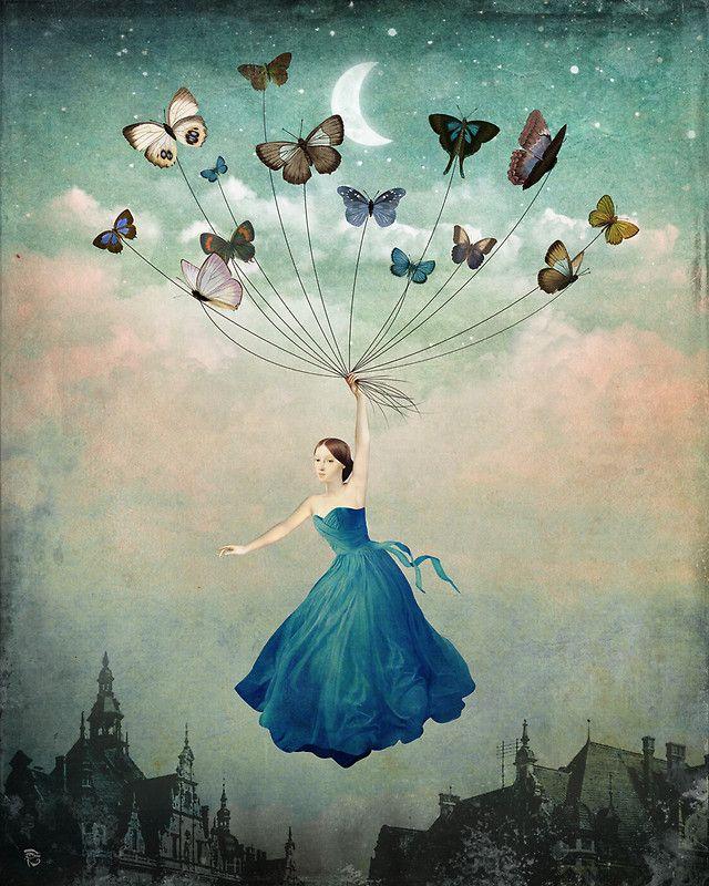Ilustración surrealista: Christian Schloe | ActitudFEM