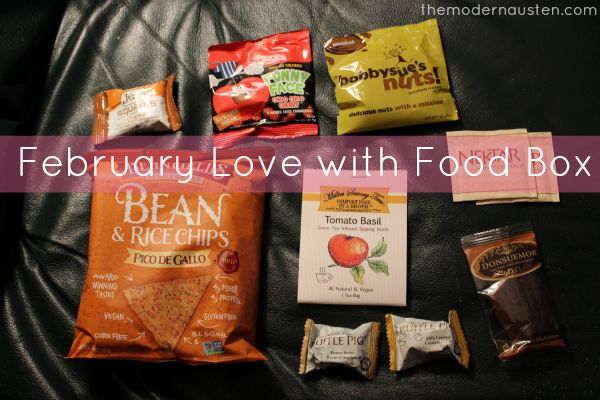 My February Love With Food Box >>>via themodernausten.com | Archives | The Modern Austen | Love ...