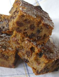 Bread Pudding recipe. My Mum made the best bread pudding ever, she used suet instead of butter as in this recipe, I remember the wonderful smell of the spices that filled the kitchen. Traditionally made to use up stale bread. I think I will make one soon, doubt if it will be as good as hers though