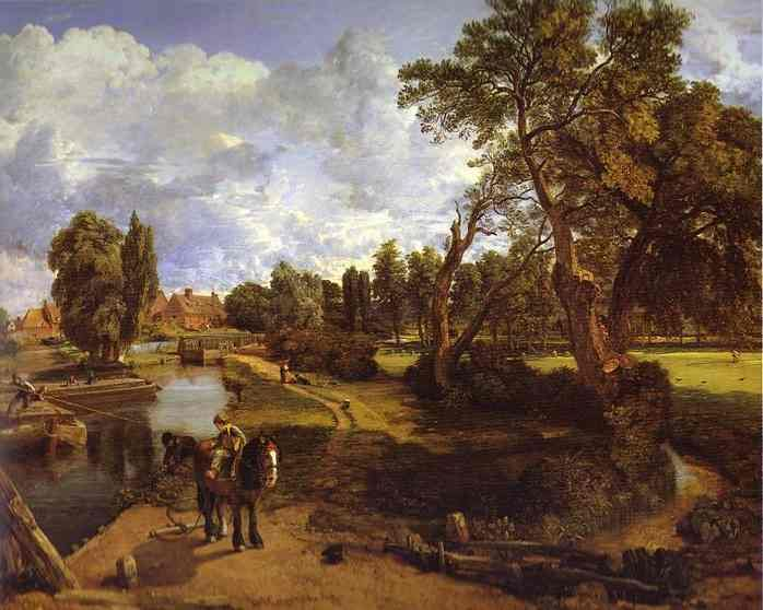 John Constable - Flatford Mill