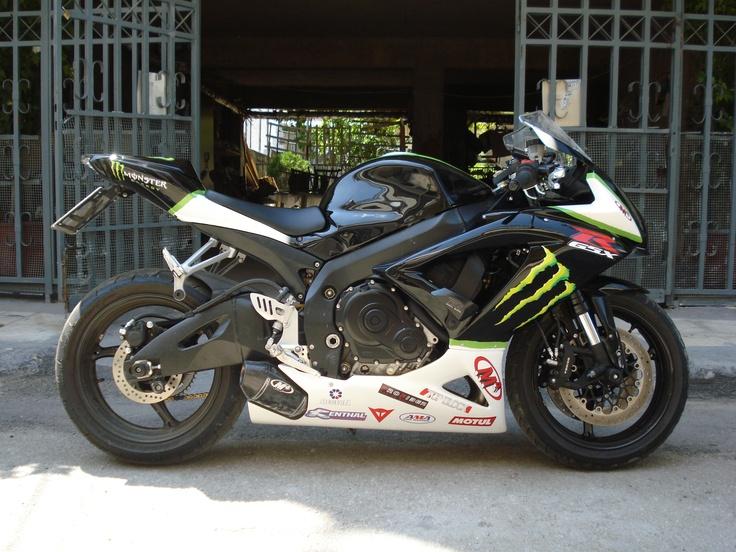 Suzuki GSX-R750 K8 M4 Monster Energy rep   Motorcycles ...