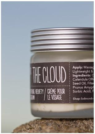 The Cloud Face Cream...for making skin soft.