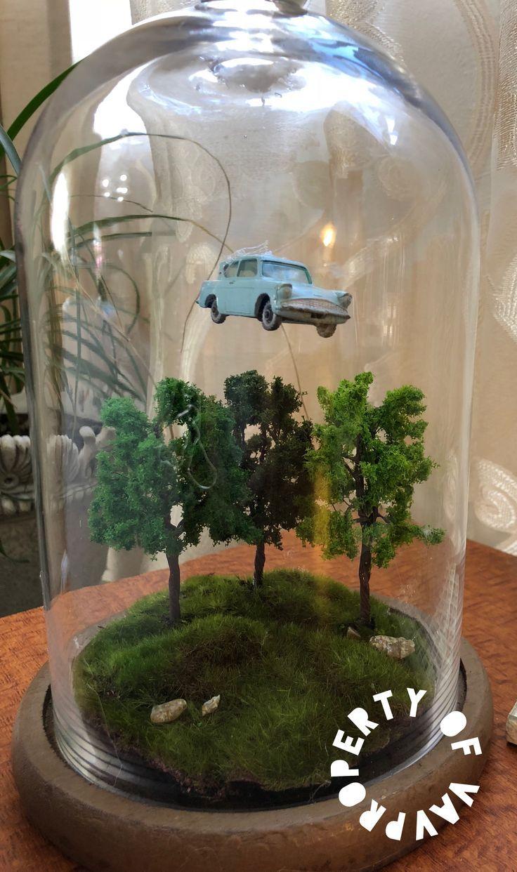 Flying Car NUR FÜR DEN PERSÖNLICHEN GEBRAUCH VON VAV Harry Potter DIY #flying… – Terrasse