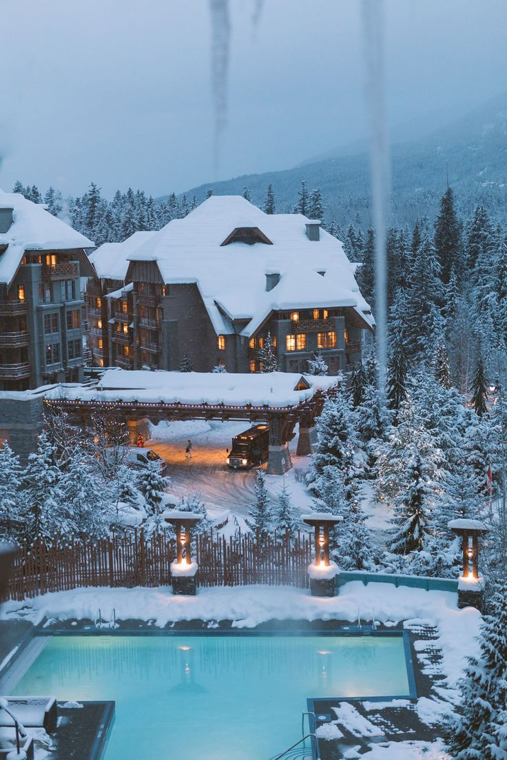 Pinterest: iamtaylorjess // Whistler // Mountains // Travel // Winter Wonderland
