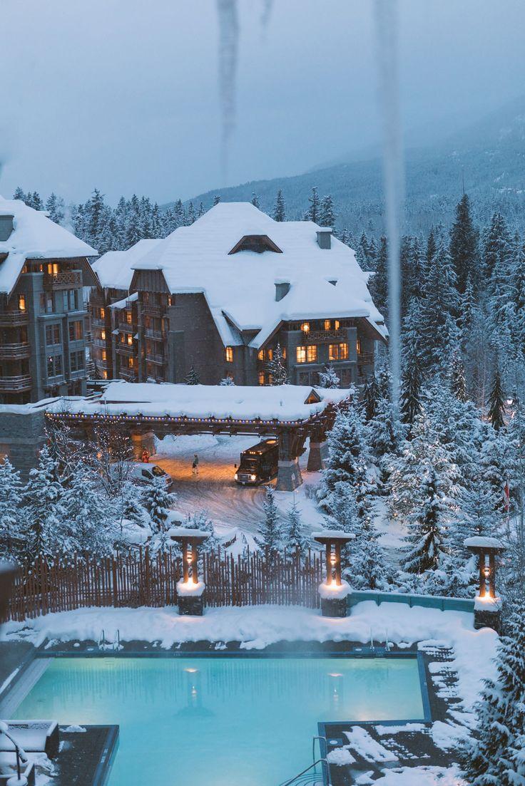 Pinterest: iamtaylorjess // Whistler // Mountains // Travel // Winter Wonderland
