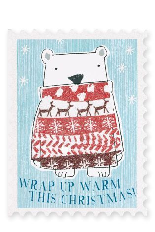 Buy 12 Animal Jumper Card Pack from the Next UK online shop